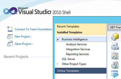 Donovan brown how to connect sql server data tools 2012 to tfs 2013 by installing microsoft visual studio team explorer 2010 microsoft visual studio 2010 service pack 1 and visual studio 2010 sp1 team foundation server flashek Images